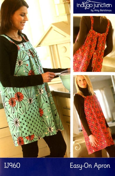 Easy On Apron Pattern- Indygo Junction