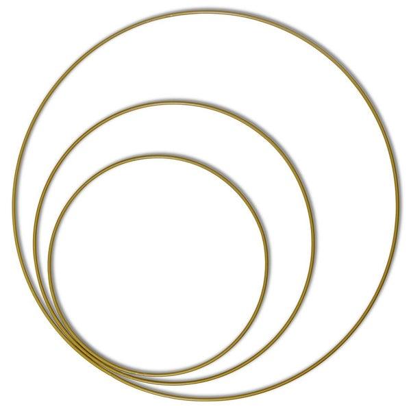 Three Gold Ring Set