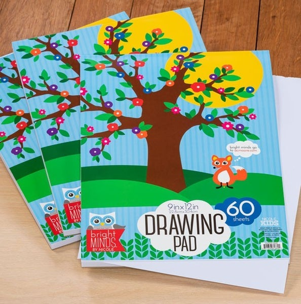 Kid's Drawing Pad - Pack of 3