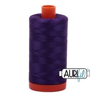 Aurifil Thread 50wt Cotton 1422 yard, Medium Purple