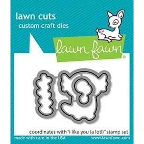 Lawn Fawn I Like You (A LOTL) Die Cuts