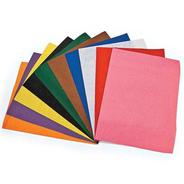 Felt Value Pack - Assorted Colors & Sizes - 36 Piece