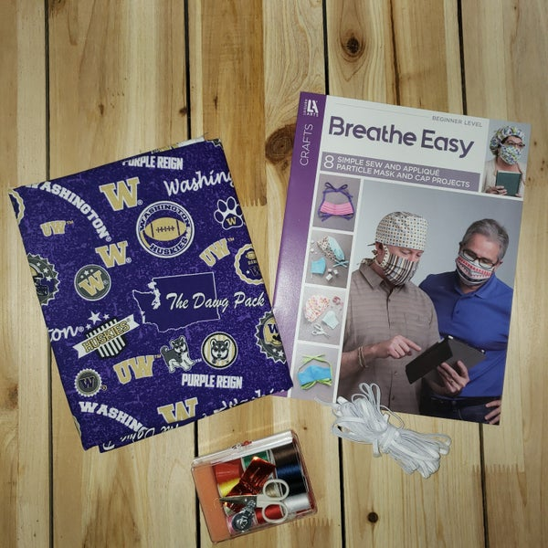 Mask Bundle Kit, University Of Washington Toss College Print