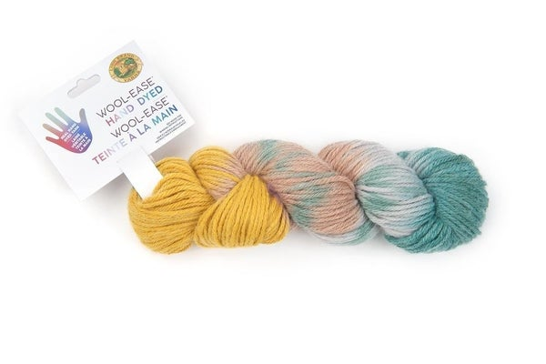 Lion Brand, Wool-Ease® Hand Dyed Yarn- Mint Julep