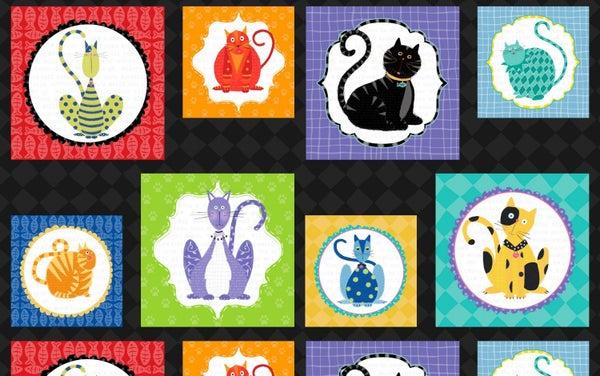 "24"" x 44"" Fabric Panel - Feeline Good Fabric Craft Panel - Wilmington Fabrics"