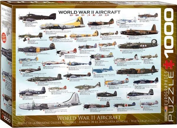 World War II Aircraft 1000-Piece Puzzle