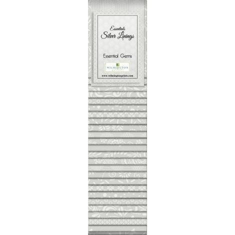 Quilting Strip Packs- Essential Gems, Silver Lining