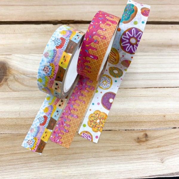 Washi Tape 3pk- Sweet Treats (Scratch & Sniff)