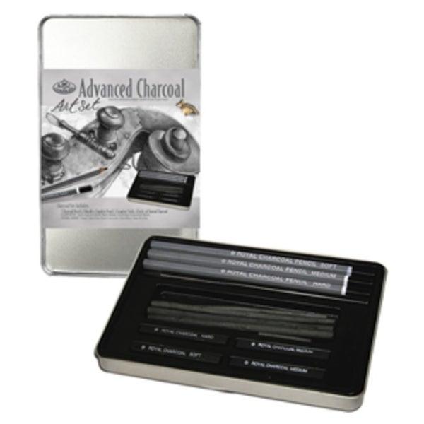 Charcoal Drawing Small Tin Set