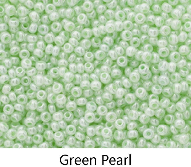 10/0 Czech Glass Seed Bead, Tube (choose from 40 colors)