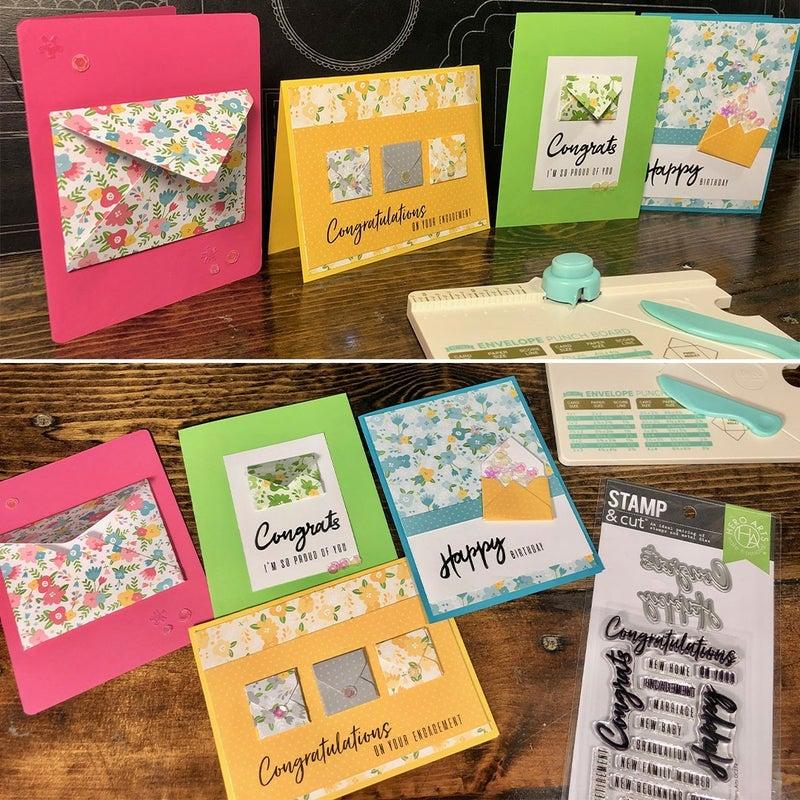 Happy Mail Bright Card Making Kit