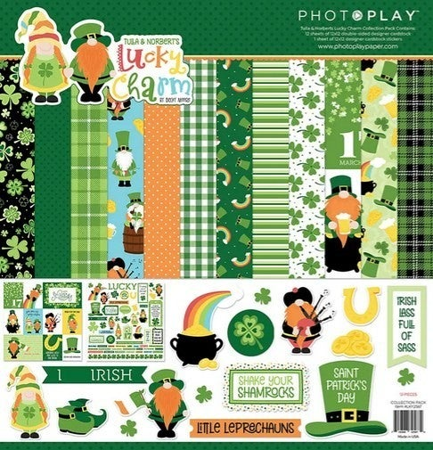 PhotoPlay- Lucky Charms kit gnomes