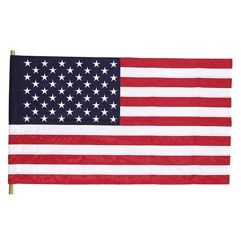 "28"" x 50"" Vinyl American Flag"
