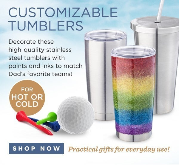Stainless Steel Tumbler With Straw - Holds 19 oz.
