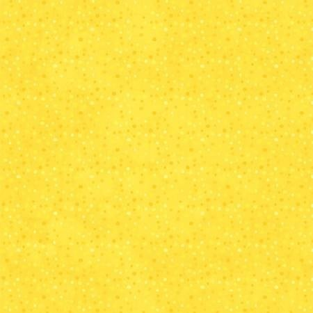 1 Yard Cut - Wilmington Quilt Essential Petite Dots Bright Yellow