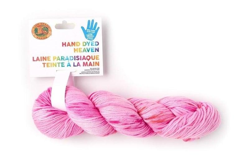 Lion Brand®Hand Dyed Heaven Yarn- Strawberry Fields
