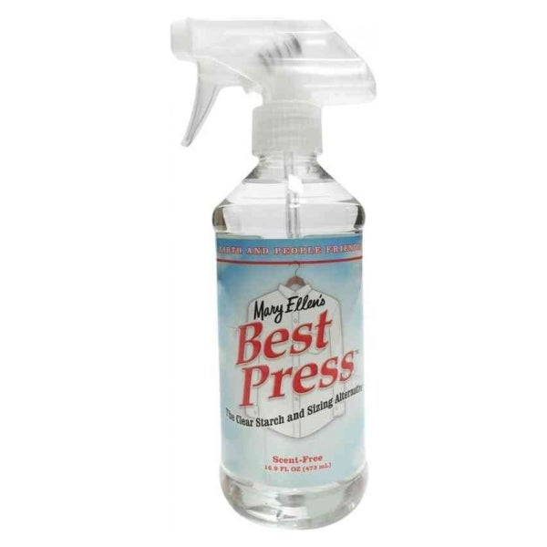 Mary Ellen's Best Press Alternative Starch, Scent Free, 16 Fl Oz