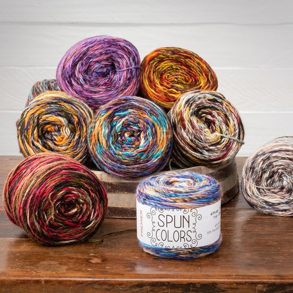 Spun Colors Yarn by Premier (choose color)