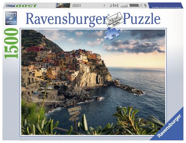 Cinque Terre View Point 1500 Pieces Puzzle