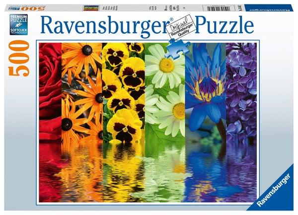 Floral Reflections 500 Pieces, Puzzle