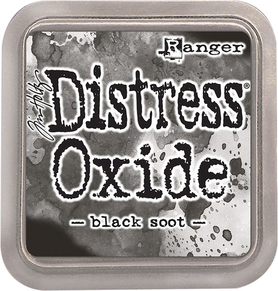 Tim Holtz Distress Oxide Ink Pad, Black Soot
