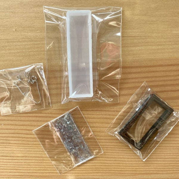 Project Kit- Wood Frame Earrings for Resin