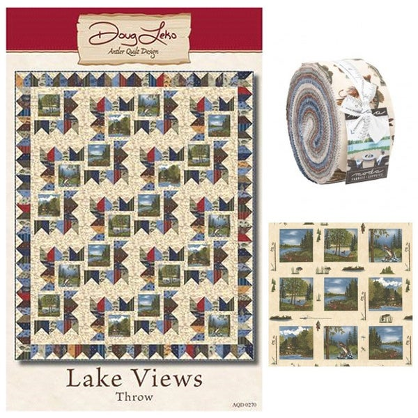 Lake Views Quilt Bundle Kit - ONLINE ONLY