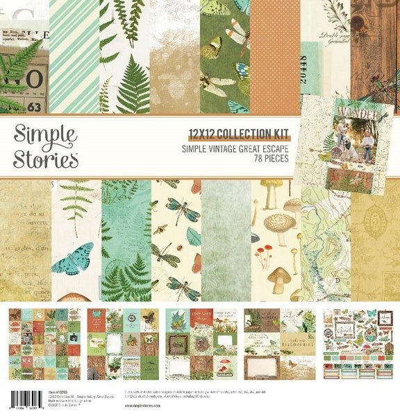 Great Escape 12x12 Collection Kit, Simple Stories
