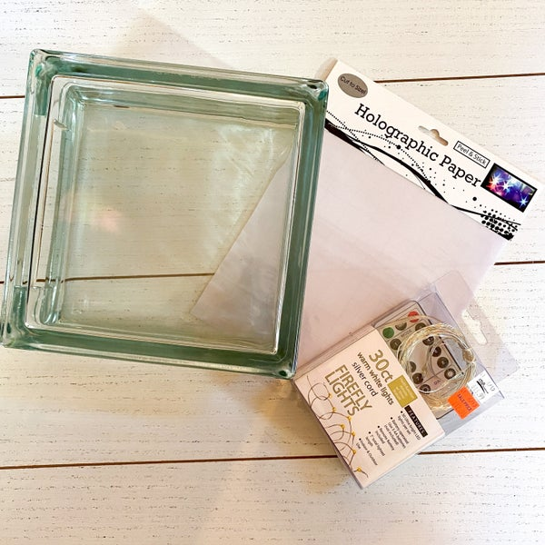 Glass Block Flicker Paper Project Kit