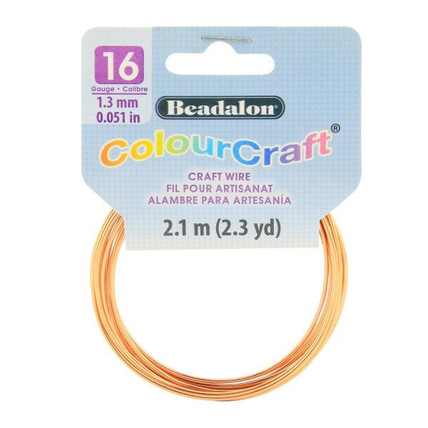 ColourCraft Wire- 16GA Copper Coil 2.3yd