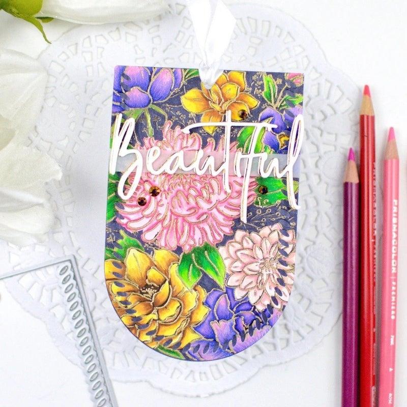 Pink Fresh Studios- Flower Garden Stamp Set