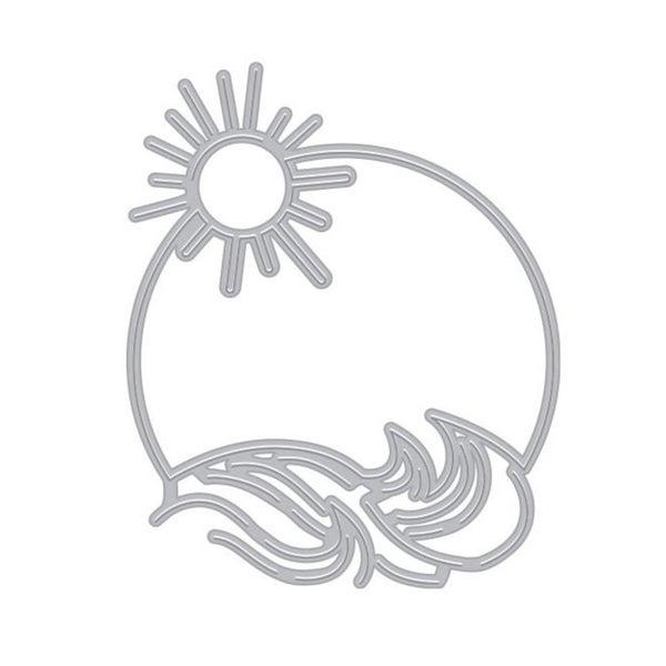 Hero Arts- Fancy Sun & Waves Window Die Cuts