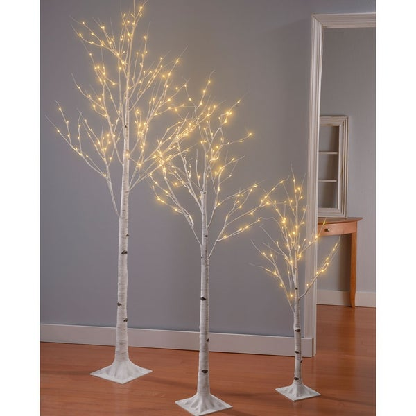 Birch Tree with Lights Starting at $29.96 (2, 4, 6 or 8 foot)