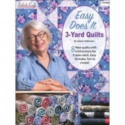 Fabric Cafe Easy Does It 3 Yard Quilts Book