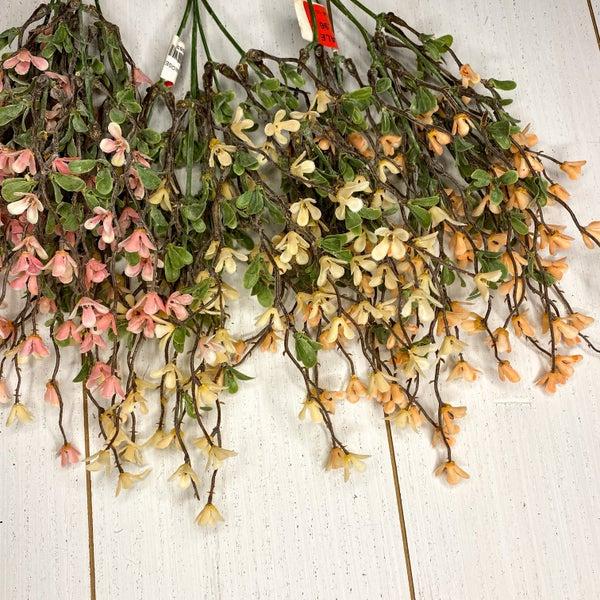 15 inch Primrose Bush (three colors)