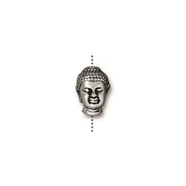 Tierra Cast Buddha Large Hold Bead