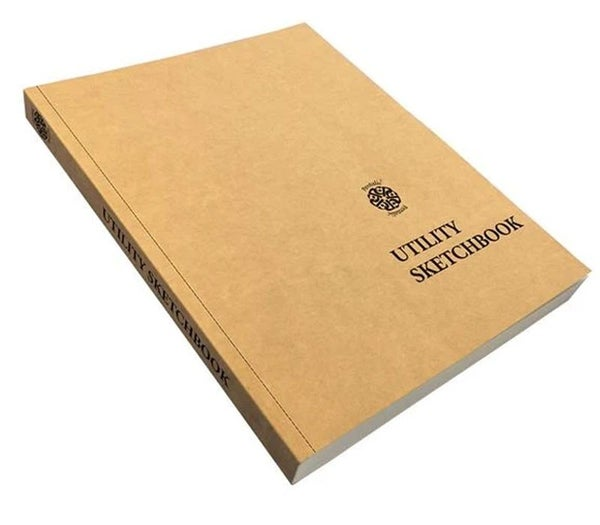 "Pentalic Kraft Cover Utility Sketchbook 8.5""x11"""