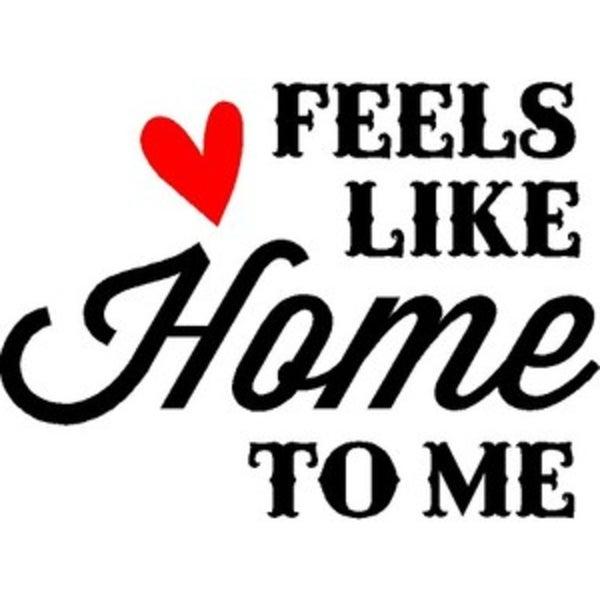 Rub-On Vinyl- Feels Like Home