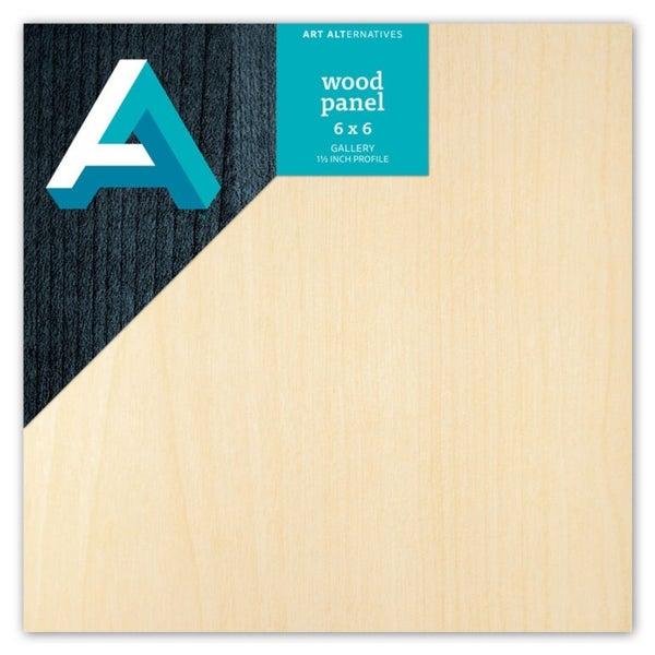 Wood Panel 6x6 inch