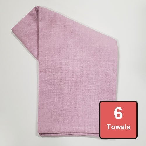 Lilac Cotton Tea Towels 6pc
