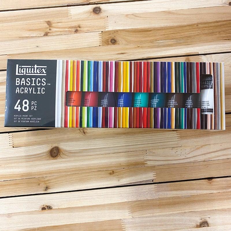 48 22ML Tube Basic Acrylic  Paint Set