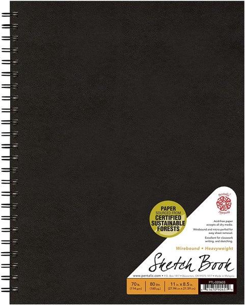 Pentalic Field Sketch Book - 8.5-inch x 11-inch
