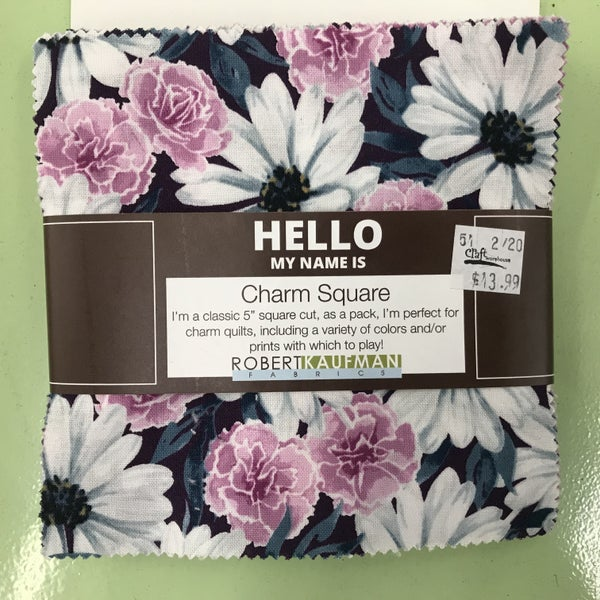 """Charm Pack, Daisy Made  5"""" Fabric"""