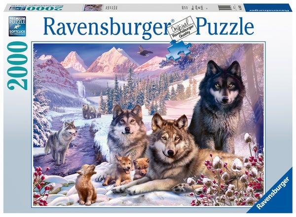 Wolves 2000 Pieces Puzzle