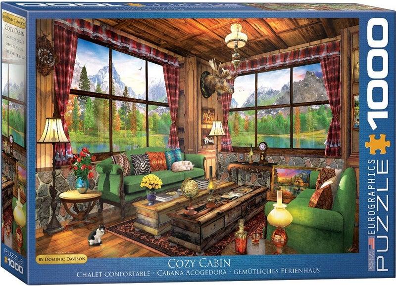 Cozy Cabin by Dominic Davison 1000-Piece Puzzle