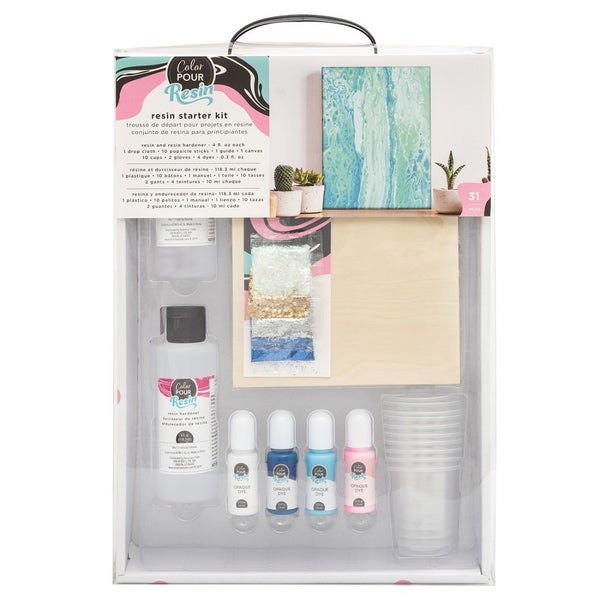 American Craft- Color Pour Collection- Resin Starter Kit