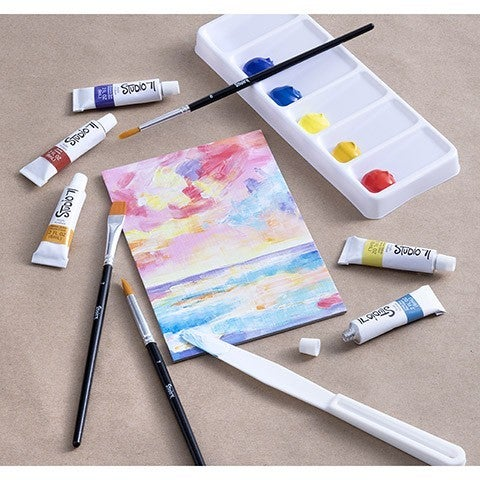 Studio 71 Acrylic Paint Art Set, 25 pieces