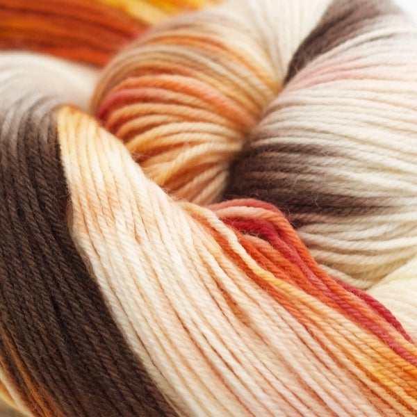 Heritage Paints 100g Skein Sock Yarn- Coals