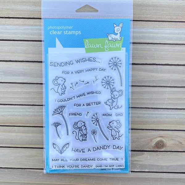 Dandy Day Stamp Set, Lawn Fawn