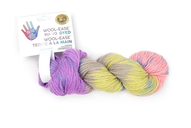 Lion Brand, Wool-Ease® Hand Dyed Yarn- Key Lime Pie